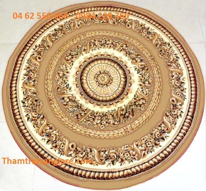 Thảm hình tròn - Gold 7608-11