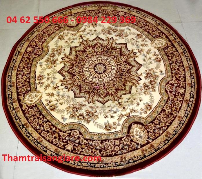 Thảm hình tròn - Gold 7612-99