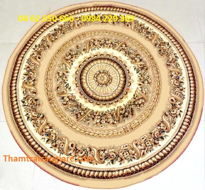 Thảm hình tròn - Ivory 7608-55