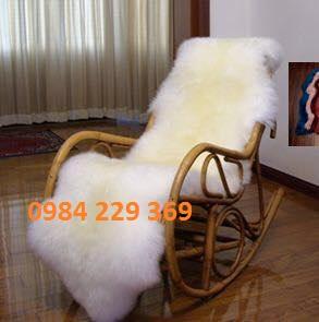 Thảm trang trí lông cừu 39