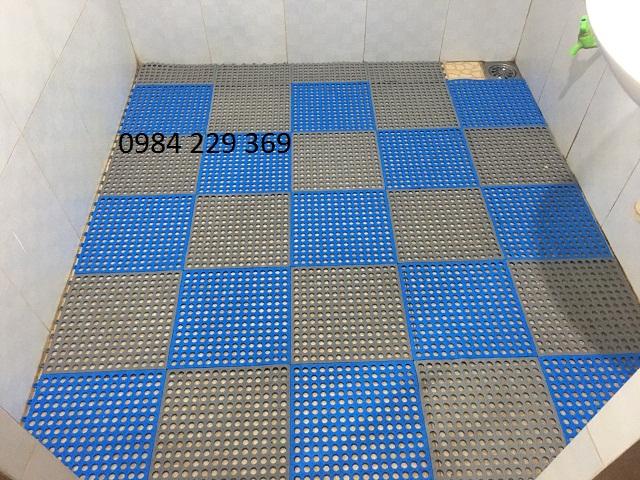 Cách chống trơn trượt nhà tắm...
