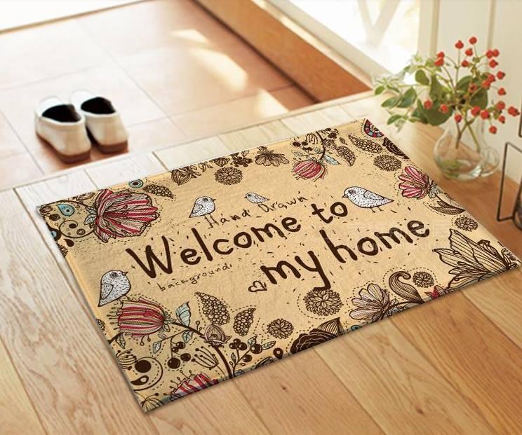Chọn thảm để cửa đón lộc tài