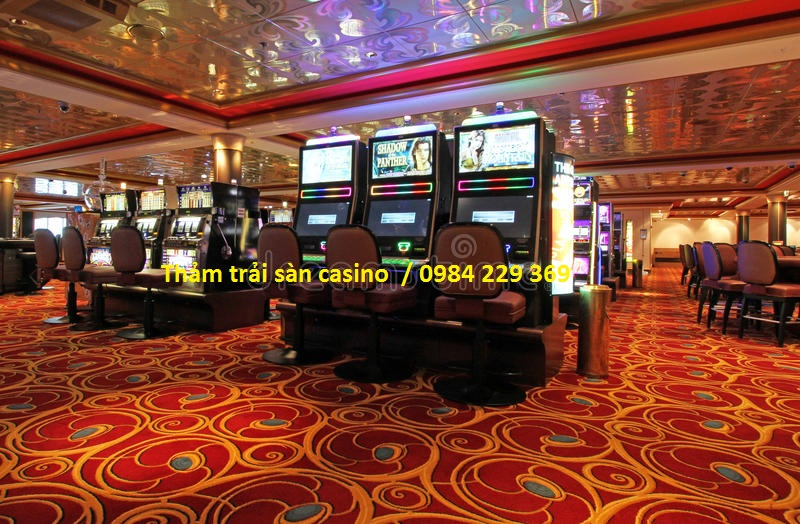 Chọn thảm trải sàn cho casino