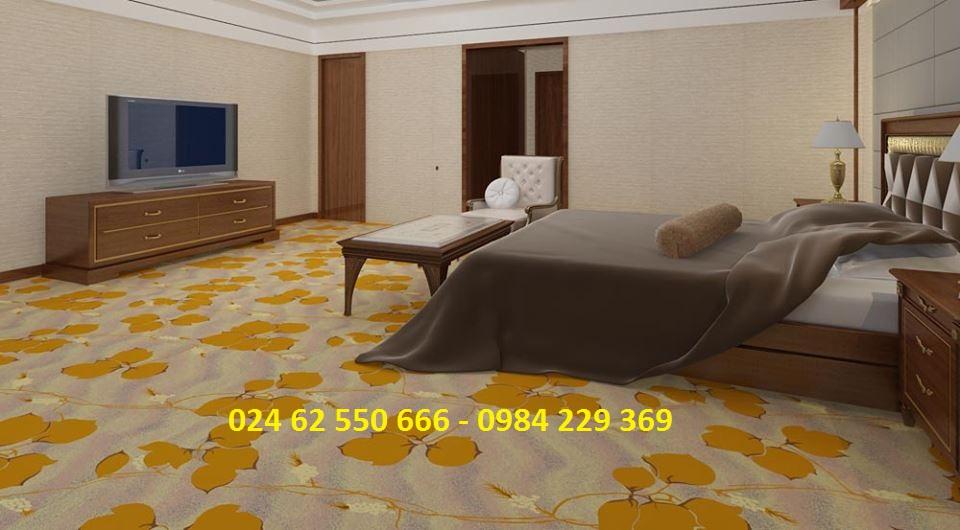 dệt thảm khách sạn