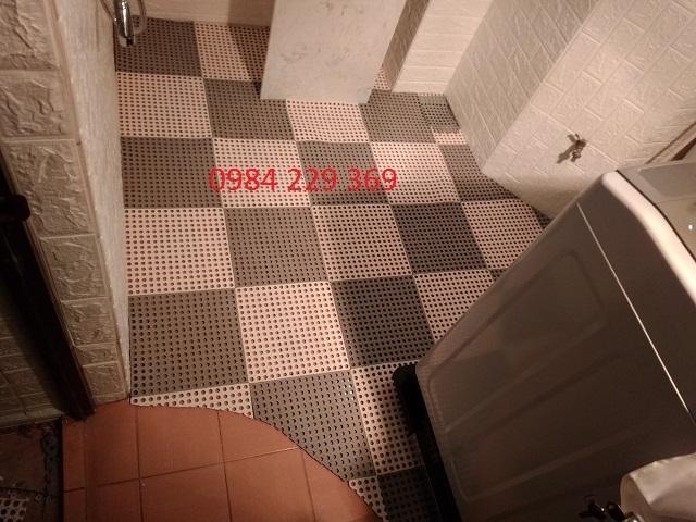 sàn nhựa nhà tắm hà nội