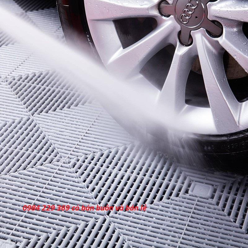 Tấm sàn rửa xe