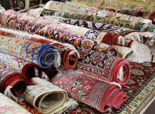 thảm dệt tay