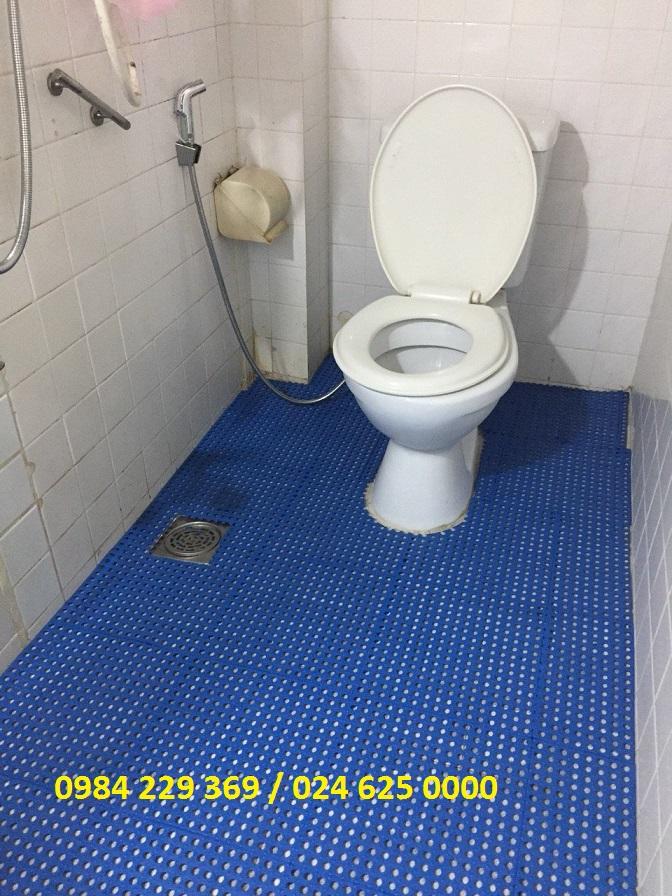 Thảm ghép nhà tắm