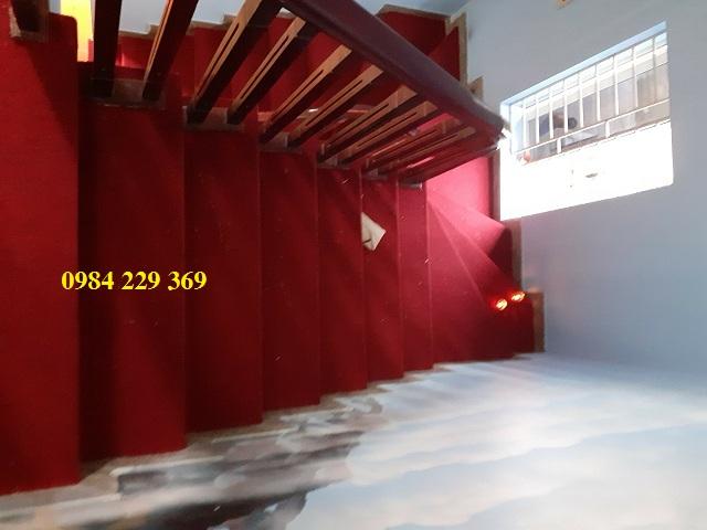 Thảm trải cầu thang đá