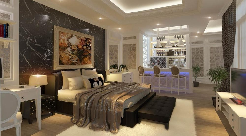 Thảm trải phòng ngủ khách sạn