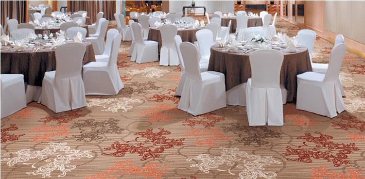 Thảm trải sàn trong khách sạn