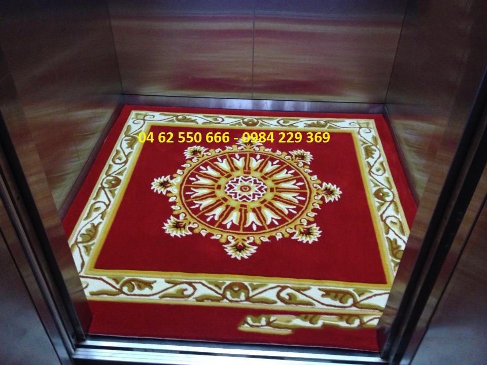 Thiết kế thảm thang máy